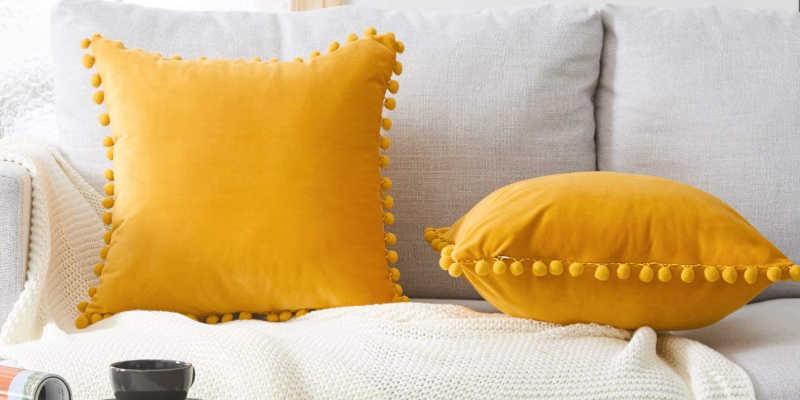 Cojín sofá amarillo cojines sofás amarillos Revista interiores, Ikea, Maisons du Monde, Leroy Merlin, Pinterest, aamarillo, Aliexpress, westwing, Kavehome, Ebay, el mueble, barato, baratos, barata, baratas, precio precios comprar oferta ofertas rebaja rebajas