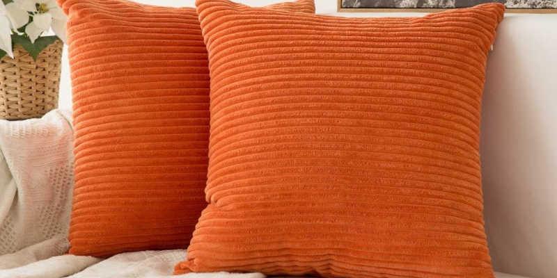 Cojines color naranja para sofá cojín para sofá, cojines para sofás, funda, fundas, barato baratos barata baratas, precio precios comprar oferta ofertas rebaja rebajas Maisons du Monde, Leroy Merlin, Vintageandchicblog, Westwing, Revista Interiores, Ebay,