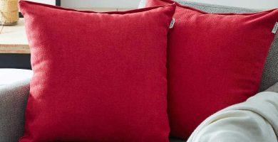 Cojines rojos para sofás cojín para sofá, cojines para sofás, funda, fundas, barato baratos barata baratas, precio precios comprar oferta ofertas rebaja rebajas Pinterest, Revista Interiores, Mil Ideas, Leroy merlin, Dhgate, El corte Inglés, Ikea,
